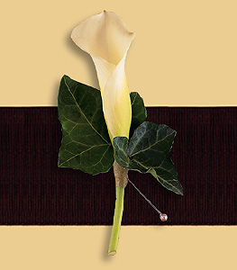 Calla Lily Boutonnaire