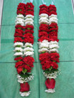 Carnation+ ROSE garland